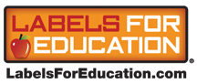 labels for education logo image
